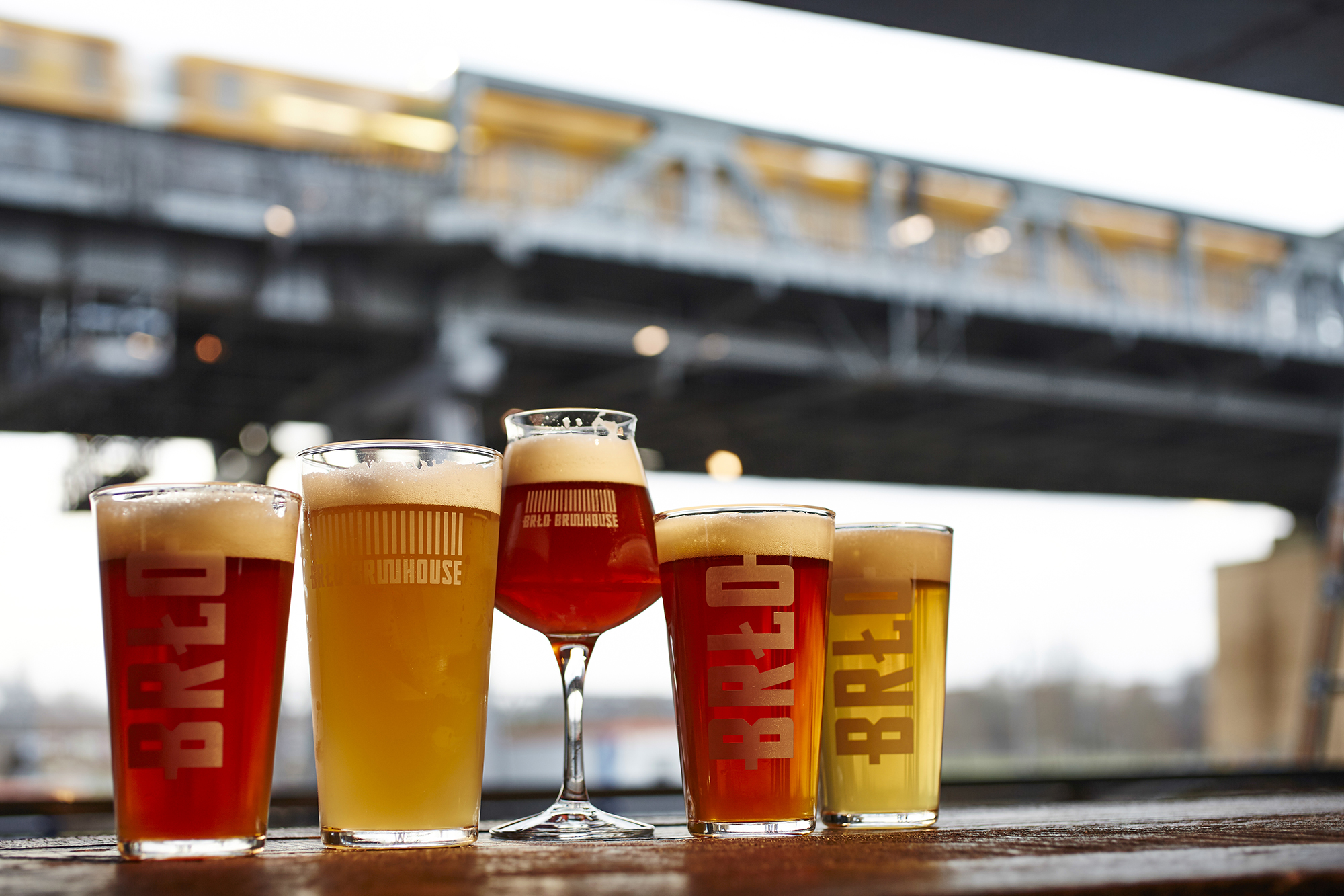 Beer at BRLO Brwhouse - a craft beer bar, restaurant and beer garden in Berlin