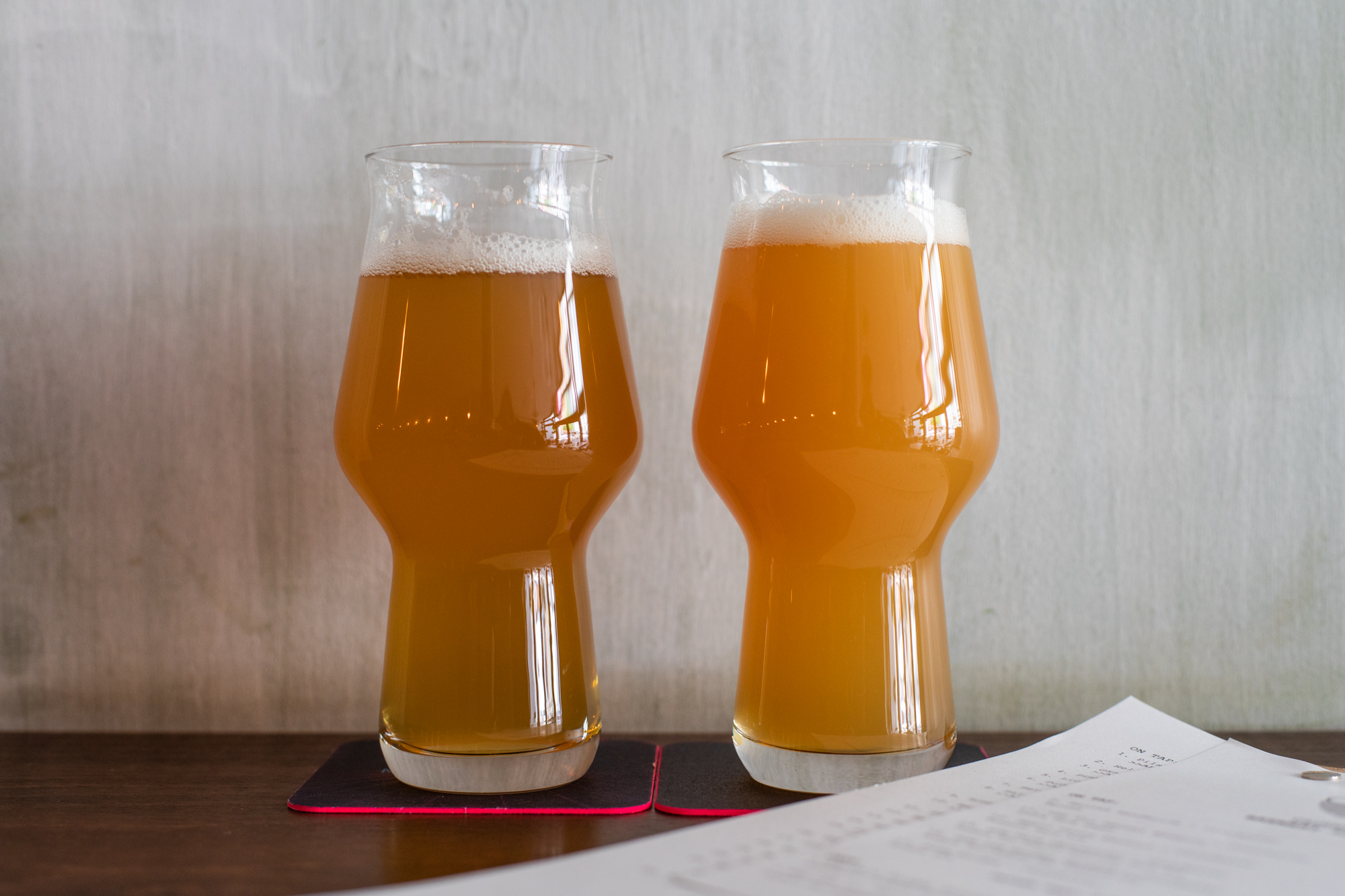 DDH IPA Enigma Chinook and DDH Pale Centennial by Cloudwater Brew Co at Muted Horn, a craft beer bar in Berlin Neukölln