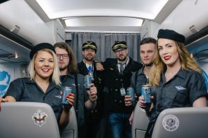 BrewDog Airlines Maiden Flight