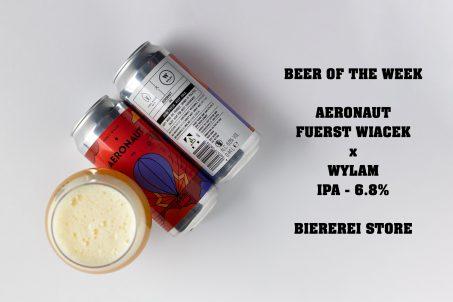 Aeronaut - Fuerst Wiacek Beer of the Week
