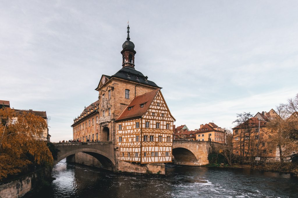 The old town hall (Das Alte Rathaus) in Bamberg